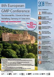 8th European GMP Conference - The biennial No 1 Event in Europe