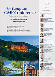 6th European GMP Conference  - The biennial No. 1 Event in Europe