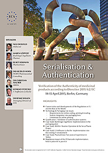 Serialisation & Authentication - Verification of the Authenticity of medicinal products according to Directive 2011/62/EC
