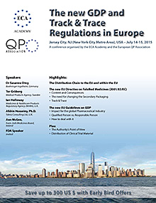 The new GDP and Track & Trace Regulations in Europe